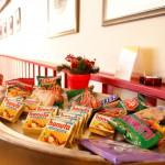 Snacks für unsere Gäste